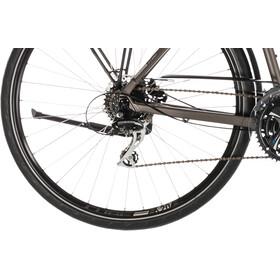 Cube Touring Pro pyörä , harmaa/ruskea